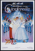 "Movie Posters:Animated, Cinderella (Buena Vista, R-1987). One Sheet (27"" X 41""). Animated.Starring the voices of Ilene Woods, Eleanor Audley, Verna..."