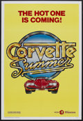 "Movie Posters:Adventure, Corvette Summer (MGM, 1978). One Sheet (27"" X 41"") Advance. Comedy.Starring Mark Hamill, Annie Potts, Eugene Roche and Kim ..."