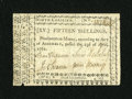 Colonial Notes:North Carolina, North Carolina April 23, 1761 15s Fine-Very Fine....