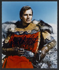 "Movie Posters:Adventure, El Cid (Allied Artists, 1961). Signed Still (8"" X 10""). HistoricalDrama. Starring Charlton Heston, Sophia Loren, Raf Vallon..."