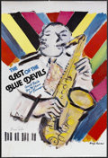 "Movie Posters:Documentary, The Last of the Blue Devils (Rhapsody, 1980). One Sheet (24"" X 36""). Musical Documentary. Starring Count Basie, Jay McShann ..."