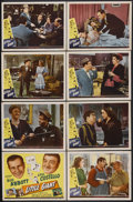 "Movie Posters:Comedy, Little Giant (Universal, 1946). Lobby Card Set of 8 (11"" X 14""). Comedy. Starring Bud Abbott, Lou Costello, Brenda Joyce, Ja... (Total: 8 Item)"