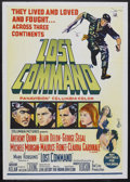 "Movie Posters:War, Lost Command (Columbia, 1966). Australian One Sheet (27"" X 40"").War. Starring Anthony Quinn, Alain Delon, George Segal and ..."
