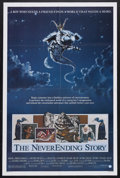 "Movie Posters:Fantasy, The NeverEnding Story (Warner Brothers, 1984). One Sheet (27"" X 41""). Fantasy. Starring Barret Oliver, Gerald McRaney, Noah ..."