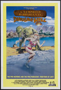 "Movie Posters:Science Fiction, A Nymphoid Barbarian in Dinosaur Hell (Troma Films, 1991). OneSheet (27"" X 41""). Sci-Fi. Starring Paul Guzzi, Linda Corwin,..."