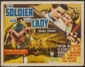 "Movie Posters:Adventure, The Soldier and the Lady (RKO, 1937). Half Sheet (22"" X 28"").Adventure. Starring Anton Walbrook, Elizabeth Allan, Margot Gr..."