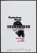 """Movie Posters:Documentary, Thelonious Monk: Straight, No Chaser (Warner Brothers, 1988). OneSheet (27"""" X 40""""). Music Documentary. Starring Thelonious ..."""