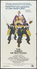 "Movie Posters:Adventure, The Three Musketeers (20th Century Fox, 1974). Three Sheet (41"" X81""). Adventure. Starring Oliver Reed, Raquel Welch, Richa..."