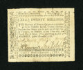 Colonial Notes:North Carolina, North Carolina December, 1768 20s Extremely Fine. ...