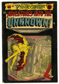 Golden Age (1938-1955):Horror, Adventures Into The Unknown #53 (ACG, 1954) Condition: VG.Overstreet 2006 VG 4.0 value = $72. From the John McLaughlinCo...