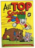 Golden Age (1938-1955):Funny Animal, All Top Comics #2 Mile High pedigree (Fox Features Syndicate, 1946)Condition: NM-. Overstreet 2006 NM- 9.2 value = $125. ...