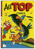 Golden Age (1938-1955):Funny Animal, All Top Comics #7 Mile High pedigree (Fox Features Syndicate, 1947)Condition: VF. Overstreet 2006 VF 8.0 value = $52. Fro...