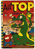 Golden Age (1938-1955):Superhero, All Top Comics #8 (Fox Features Syndicate, 1947) Condition: VG+. Misnumbered as issue #7. Overstreet 2006 VG 4.0 value = $18...