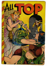 All Top Comics #18 (Fox Features Syndicate, 1949) Condition: VG. Dagar and Jo-Jo appearances. Matt Baker art. Overstreet...