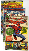 Bronze Age (1970-1979):Superhero, The Amazing Spider-Man Group (Marvel, 1966-88) Condition: Average VF/NM. Twenty-two years of Spideys include Amazing S... (Total: 13 Comic Books)