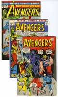 Bronze Age (1970-1979):Superhero, The Avengers Group (Marvel, 1971-77). Includes issues #91 (FN), 95 (VF, Neal Adams cover and art), 97 (VF+, crossover featur... (Total: 8 Comic Books)