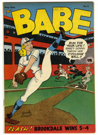 Babe #2 Mile High pedigree (Prize, 1948) Condition: VF. Boody Rogers art. Overstreet 2006 VF 8.0 value = $85. From the J...