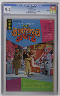 Banana Splits #6 File Copy (Gold Key, 1971) CGC NM 9.4 Off-white to white pages. Photo cover. Only two copies of this is...