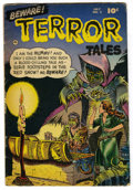 Golden Age (1938-1955):Horror, Beware Terror Tales #2 (Fawcett, 1952) Condition: VG. Pre-Codehorror with art by Ross Andru, Bernard Baily, Bob Powell, and...