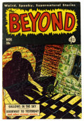 Golden Age (1938-1955):Horror, The Beyond #7 (Ace, 1951) Condition: FN. Overstreet 2006 FN 6.0value = $60. From the Madison Monk Collection....