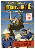Golden Age (1938-1955):War, Bill Barnes Comics #6 Mile High pedigree (Street & Smith, 1942)Condition: NM-. Overstreet 2006 NM- 9.2 value = $390.From...