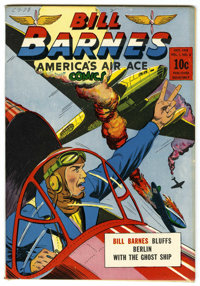 Bill Barnes Comics #8 Mile High pedigree (Street & Smith, 1942) Condition: NM-. Overstreet 2006 NM- 9.2 value =...