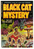 Golden Age (1938-1955):Horror, Black Cat Mystery #35 Mile High pedigree (Harvey, 1952) Condition:NM-. Atomic disaster cover and story. Art by Bob Powell, ...