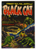 Golden Age (1938-1955):Horror, Black Cat Mystery #47 Mile High pedigree (Harvey, 1953) Condition:VF+. Lee Elias cover. Overstreet 2006 VF 8.0 value = $144...