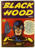 Black Hood #9 (MLJ, 1943) Condition: GD/VG. First issue after title change from Hangman Comics. Overstreet 2006 GD 2.0 v...