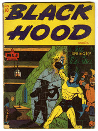 Black Hood #10 (MLJ, 1944) Condition: GD/VG. Appearances by the Hangman and Dusty the Boy Detective. Overstreet 2006 GD...