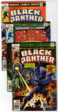 Bronze Age (1970-1979):Superhero, Black Panther Group (Marvel, 1976-78) Condition: Average VF+. Jack Kirby scripts and art on these early issues, including #2... (Total: 8 Comic Books)