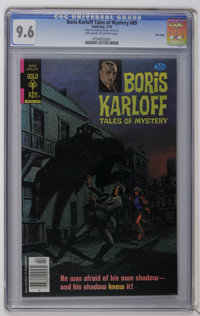 Boris Karloff Tales of Mystery #89 File Copy (Gold Key, 1979) CGC NM+ 9.6 Off-white to white pages. Painted cover. Overs...