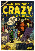 """Golden Age (1938-1955):Humor, Crazy #4 (Atlas, 1954) Condition: GD/VG. """"I Love Lucy"""" satire. Joe Maneely cover. Maneely and Bill Everett art. Overstreet 2..."""