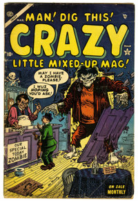 """Crazy #4 (Atlas, 1954) Condition: GD/VG. """"I Love Lucy"""" satire. Joe Maneely cover. Maneely and Bill Everett art..."""