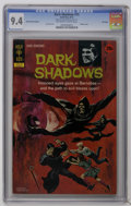 "Bronze Age (1970-1979):Horror, Dark Shadows #15 File Copy (Gold Key, 1972) CGC NM 9.4 Off-white to white pages. Painted cover. Joe Certa art. CGC notes, ""2..."