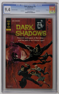 Dark Shadows #15 File Copy (Gold Key, 1972) CGC NM 9.4 Off-white to white pages. Painted cover. Joe Certa art. CGC notes...