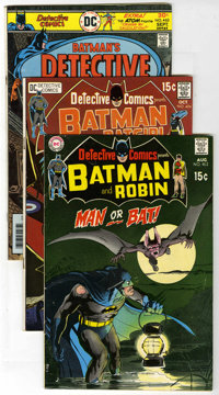 Detective Comics Group (DC, 1970-1987) Condition: FN. Seven issues are included spanning some 18 years. Neal Adams cover...