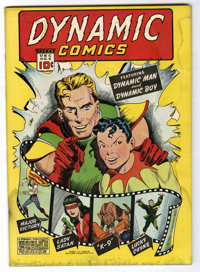 Dynamic Comics #2 Mile High pedigree (Chesler, 1941) Condition: GD+. Origins of Dynamic Boy and Lady Satan. Intro of the...