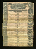 Confederate Notes:Group Lots, Four CSA Notes.. . ... (Total: 4 notes)