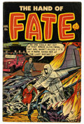Golden Age (1938-1955):Horror, The Hand of Fate #12 (Ace, 1952) Condition: VG. Overstreet 2006 VG4.0 value = $42. From the Madison Monk Collection....