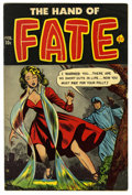 Golden Age (1938-1955):Horror, The Hand of Fate #16 (Ace, 1953) Condition: FN+. Overstreet 2006 FN6.0 value = $63; VF 8.0 value = $117....