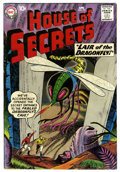 Silver Age (1956-1969):Science Fiction, House of Secrets #19 (DC, 1959) Condition: VG/FN. Bernard Bailycover. Baily and Nick Cardy art. Overstreet 2006 VG 4.0 valu...