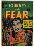 Golden Age (1938-1955):Horror, Journey Into Fear #6 (Superior, 1952) Condition: GD+. Overstreet2006 GD 2.0 value = $30. From the Madison Monk Collection...