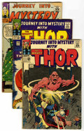 Silver Age (1956-1969):Superhero, Journey Into Mystery Group (Marvel, 1963-65) Condition: Average FR/GD. Included are #96, 118 (first appearance of the Destro... (Total: 4 Comic Books)