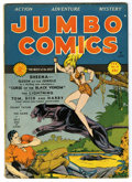Golden Age (1938-1955):Adventure, Jumbo Comics #24 (Fiction House, 1941) Condition: FN/VF. John Celardo cover. Bob Powell art. Overstreet 2006 FN 6.0 value = ...