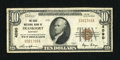 National Bank Notes:Kentucky, Frankfort, KY - $10 1929 Ty. 1 The State NB Ch. # 4090. ...