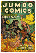 Golden Age (1938-1955):Adventure, Jumbo Comics #133 Mile High pedigree (Fiction House, 1950) Condition: VF. Jack Kamen art. Overstreet 2006 VF 8.0 value = $10...