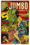 Golden Age (1938-1955):Adventure, Jumbo Comics #166 Mile High pedigree (Fiction House) Condition: VF+. Overstreet 2006 VF 8.0 value = $92; VF/NM 9.0 value = $...