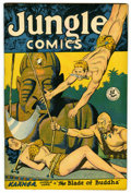 "Golden Age (1938-1955):Adventure, Jungle Comics #101 Davis Crippen (""D"" Copy) pedigree (Fiction House, 1948) Condition: FN/VF. Matt Baker art. Overstreet 2006..."