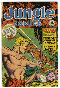 Jungle Comics #118 Mile High pedigree (Fiction House, 1949) Condition: NM. Clyde Beatty appearance. Overstreet 2006 NM-...